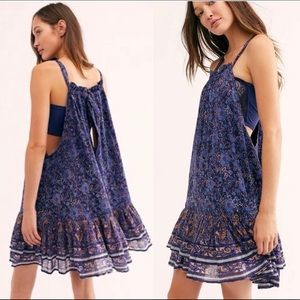 free people lyla mini swing dress